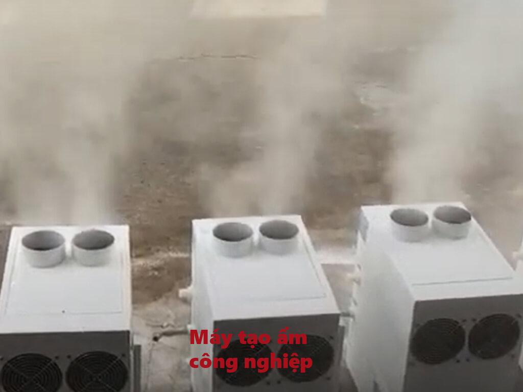 máy tạo ẩm nhà yến bằng sóng siêu âm